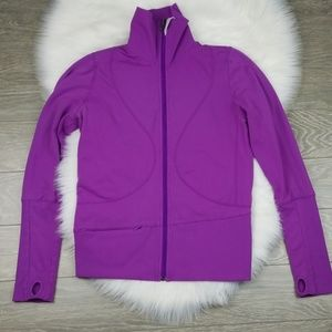 Lululemon Purple Zip Up Jacket Womens 8
